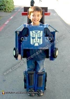 Homemade Optimus Prime Transformers