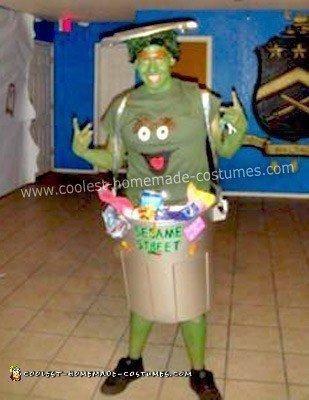 Homemade Oscar the Grouch Costume