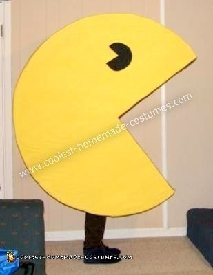 Homemade Pac Man Halloween Costume
