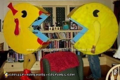 Homemade Pacman and Ms. Pacman Costume