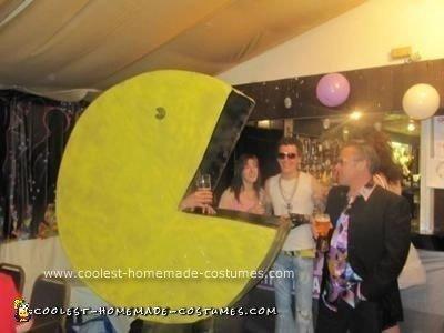 Homemade Pacman Costume