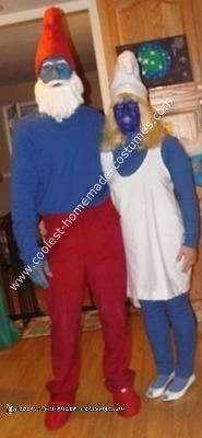 Papa Smurf and Smurfette Costumes