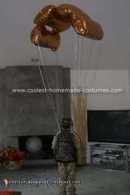 Homemade Paratrooper Costume