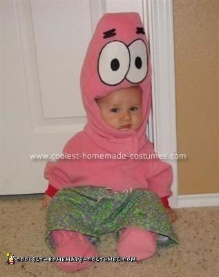 Homemade Patrick Star from Spongebob Costume