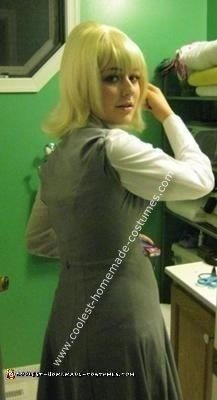 Homemade Pattie Boyd Costume