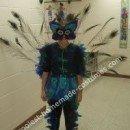Homemade Peacock Halloween Costume