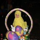 Homemade Peep in an Easter Basket Costume