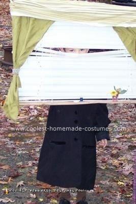 Homemade Peeping Tom Costume