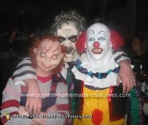 Homemade Pennywise The Clown Costume