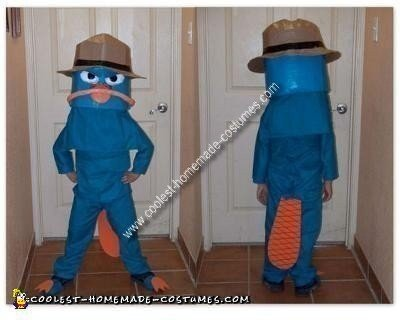 Homemade Perry the Platypus aka Agent P Costume
