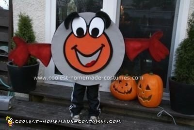 Homemade Peter Puck Costume