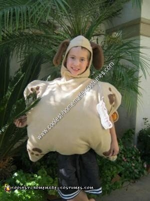 Homemade Pillow Pet Costume Idea