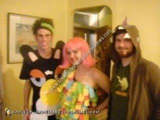 Homemade Pinata Adult Halloween Costume Idea