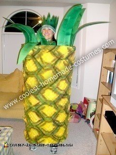 Homemade Pineapple Costume