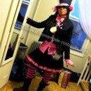 Homemade Pink Mad Hatter Halloween Costume