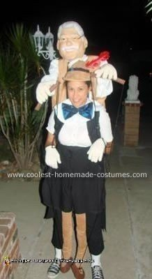Homemade Pinocchio Costume