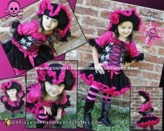 Homemade Pirate Princess Costume