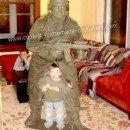 Homemade Plastic Army Man Costume