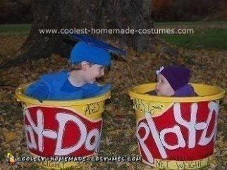 Homemade Play Doh Costume