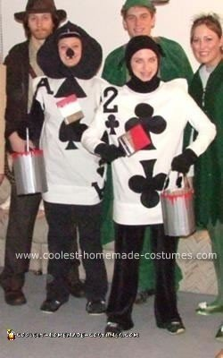 Homemade Playing Cards Costumes