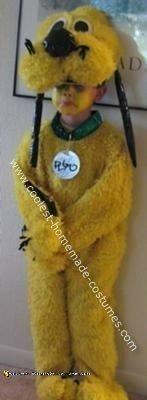 Homemade Pluto Costume