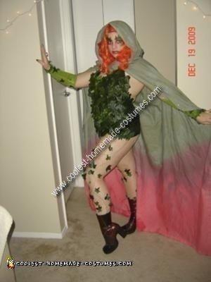 Homemade Poison Ivy Costume