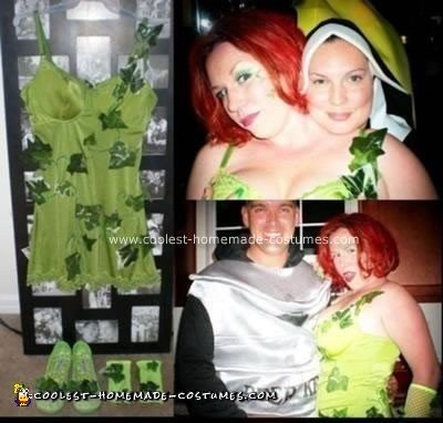 Homemade Poison Ivy Halloween Costume