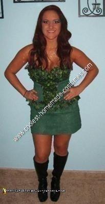 Homemade Poison Ivy Halloween Costume Idea