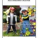 Homemade Pokemon Trainer Ash Kethum Costume