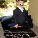 Homemade Polar Express and Conductor Costume