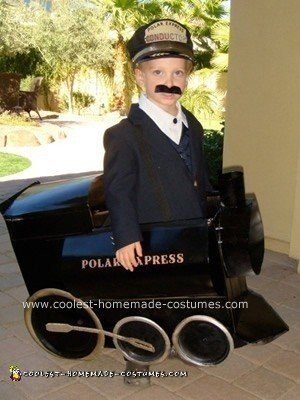 Coolest Homemade Polar Express and Conductor Costume
