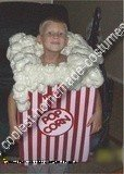 Homemade PopCorn Box Costume