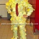 Homemade Post It Man Costume