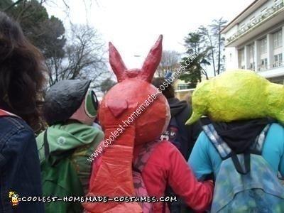 Homemade Powerpuff Girls Group Costume