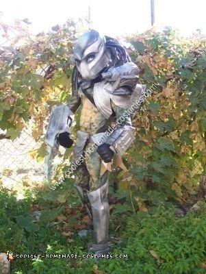 Homemade Predator Boy Halloween Costume
