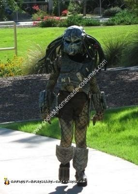 Homemade Predator Costume
