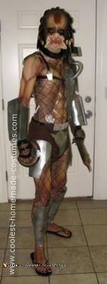 Homemade Predator Halloween Costume