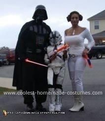 Homemade Princess Leia Costume