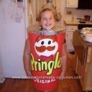 Homemade Pringles Can Halloween Costume