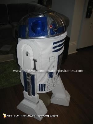 Homemade R2D2 Astromech Droid Costume