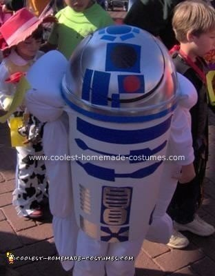 Homemade R2D2 Costume