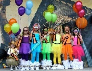 Homemade Rainbow and Pot of Gold Group Costume