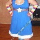 Homemade Rainbow Brite Adult Costume