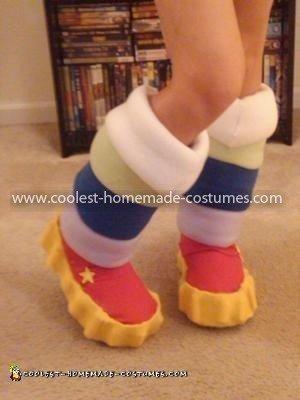 Coolest Homemade Rainbow Brite Costume 32