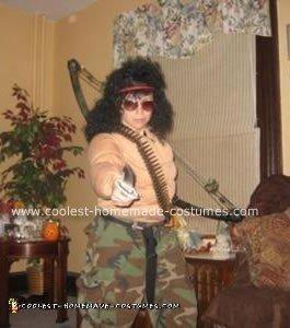 Homemade Rambo Costume