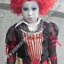 Homemade Red Queen Halloween Costume