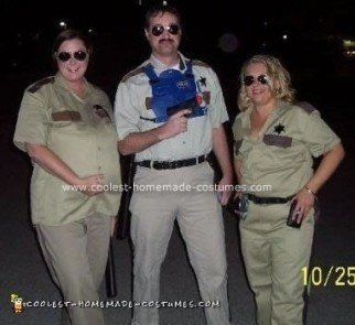 Homemade Reno 911 Group Costume