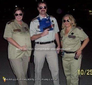 Homemade Reno 911 Group Costume