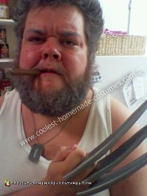 Homemade Retired Wolverine Costume