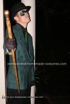 Homemade Riddler Halloween Costume